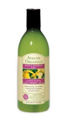 Avalon Ylang Ylang Bain et Douche Gel, 12 onces