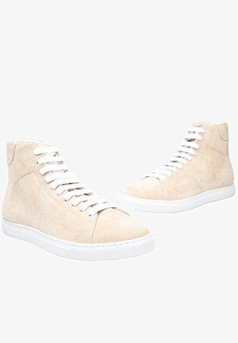Shoepassion No. 32 Ws Damenschuh Sportief En Elegant. Handgemaakt Van Het Fijnste Leder In Italië. Beige