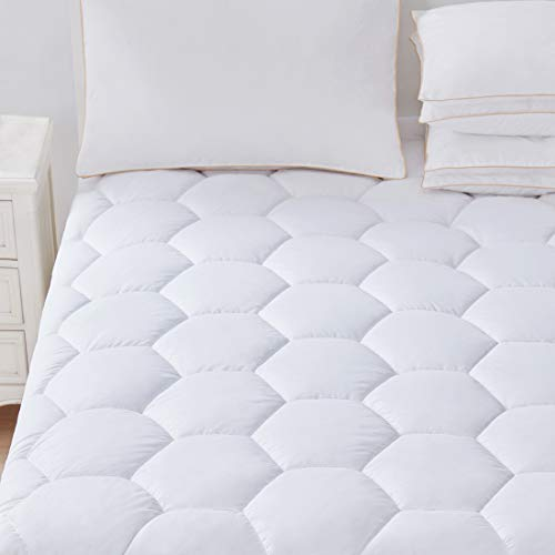 Favorland Mattress Pad Cover Queen- Hypoallerge...