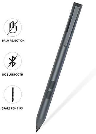 1024 Level Pressure Sensitivity Capacitive Pen Touch Stylus Pen Pencil for Surface,Black Active Stylus Pen for Surface Go Pen
