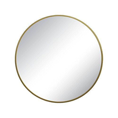 Brass Mirror Frame - Project 62™ Round Decorative Wall Mirror (Brass, 18