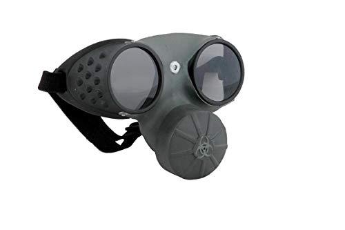 Elope Gas Mask, Grey/Black, One Size ()