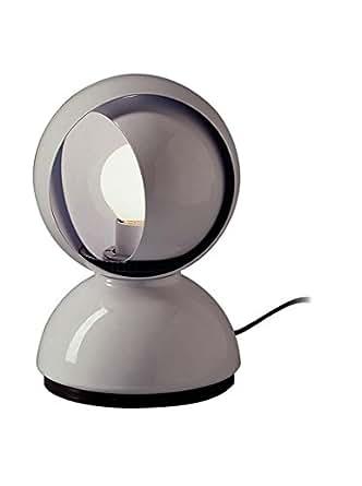Artemide Eclisse Table Lamp White E12 LED or Halo 25W Design Vico Magistretti 1967