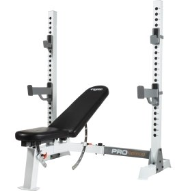 Amazon Com Fitness Gear Pro Olympic Bench Sports Outdoors