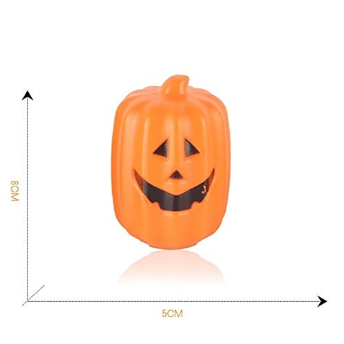 Party Diy Decorations - Halloween Prop Light Child Desktop Ornament Luminou Bucket Kindergarten Decorative - Bucketful Autumn Handbag Pocketbook Pail Cucurbita Suitcase - 1PCs
