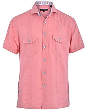 Mini D Laurent 06 Shaped Fit Short Sleeve Sport Shirt