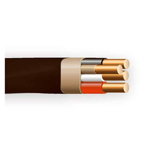 Ground Sheathed Cable - Marmon Home Improvement Prod 147-4203B9 6/3 Non-Metallic with Ground Sheathed Cable, 90-Feet