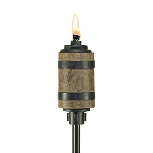 Tiki Brand 65-Inch Barrel Resin Torch, (Tiki Stand)