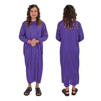 Purple Nativity Gown Child Costume - Vacation Bible School & Costumes & ()