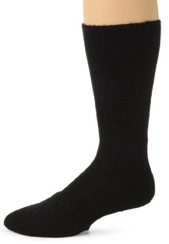 Thorlo Men's Safety Steel Toe Socks with THORLON,White, Size