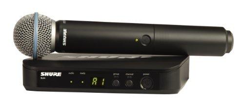Shure BLX24/B58 Wireless Vocal System with Beta 58A Handheld Microphone J10 [並行輸入品]   B07MDQ3YQD