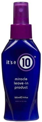 Its a 10 Miracle Leave in Product 4 Oz