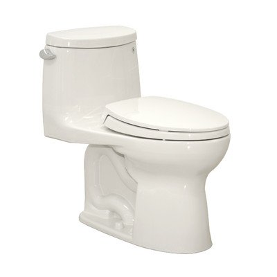 Ultramax II 1.28 GPF Elongated 1 Piece Toilet Finish: Cotton, Flush: ()