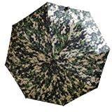 YiDing Camouflage ACU Folding Umbrella Unisex Easy one-Touch Jump Auto Open Close Diameter 103 cm Camping Windproof Waterproof ACU Umbrella