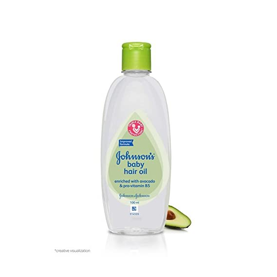 Johnson's Baby Hair Oil (100ml)