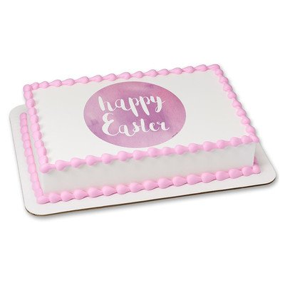 Easter Edible Icing Image for 6 inch Round Cake