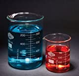 UNITSCI - BEAKERS, LOW FORM, BOROSILICATE GLASS, 4000ML, EA1