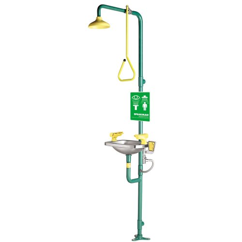 Speakman SE-603 Select Series Combination Emergency Shower and Eye/Face Wash ()