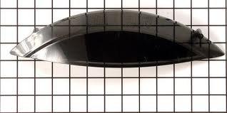 Frigidaire WASHER/DRYER DOOR Administer - BLACK