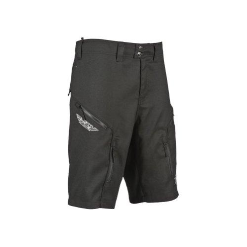 Fly Racing Mens Ripa Shorts, Black, Size 28