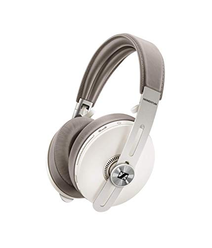 Sennheiser MOMENTUM 3 WIRELESS – Auriculares inalámbricos circumaurales, Color Blanco (Sandy White)