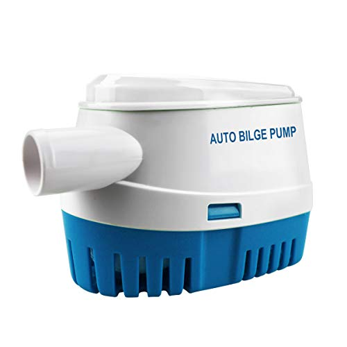 BACOENG Automatic Submersible Boat Bilge Water Pump 12v 1100gph Auto with Float Switch -