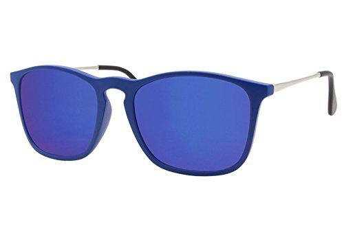 Azul Mujer Nerd Wayfarer Hombre de Cheapass Sol Gafas 6q07yw6ag