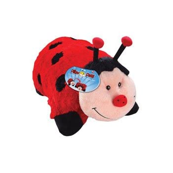 Pillow Pets 11 Inch Pee Wees  Dreamy Ladybug