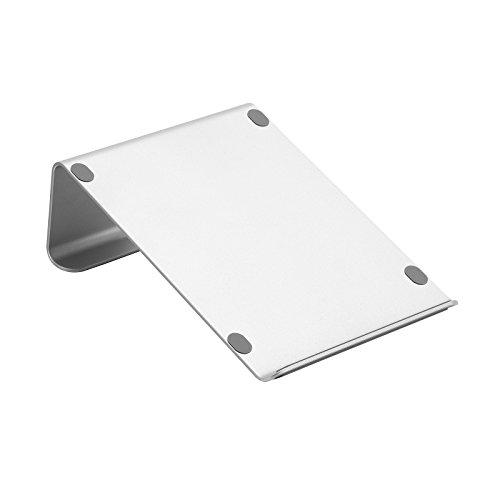 SONGMICS Aluminum Laptop Stand, Ergonomic Desktop Notebook Riser, Portable Laptop Holder - UOMS07SV
