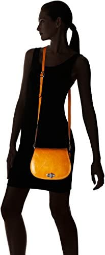 Floto Firenze Women's Saddle Bag Crossbody Shoulder Bag Handbag