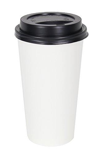 2dayShip WHITE Paper Coffee Travel