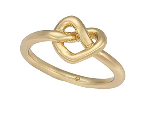Kate Spade New York Gold-Tone Love Knot Ring Size - Gold Tone Knot Love