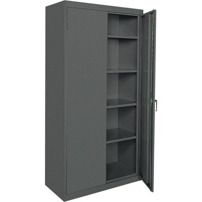 Sandusky Lee CA41362472-02 Classic Series Storage Cabinet with Adjustable Shelves, 36
