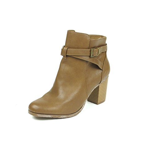 Kenneth Cole REACTION Womens Lana Ankle Boot 7 Natural (Kenneth Cole Reaction Natural Womens)