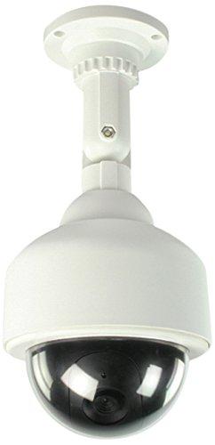 König SAS-DUMMYCAM25 Blanco Almohadilla cámara de Seguridad ficticia - Cámaras de Seguridad ficticias (Almohadilla, Exterior, Blanco, De plástico, IP65, Techo)