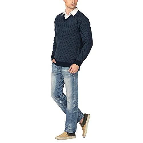 31THCtjeXML. SS500  - aarbee Men's Blended Sweater