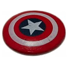 HeroClix: Captain America Shield Object # O001 (Limited Edition) - Captain America