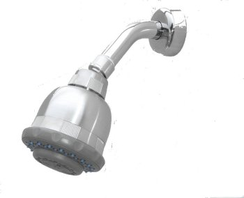 Shower Filter Chrome Replaceable cartridge product image