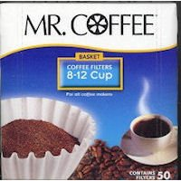 Mr. Coffee 8 - 12 Cup Coffee Filters, Box Of 100 ()