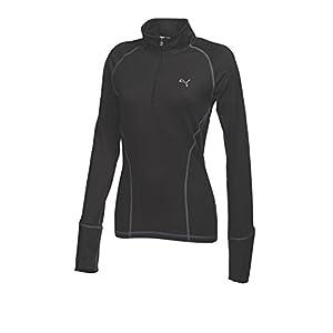 puma 1 4 zip. puma golf women\u0027s solid 1/4 zip popover shirt 1 4