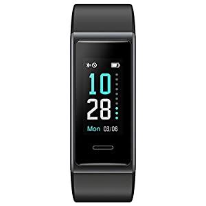 Willful Fitness Tracker 2020 New Version IP68 Waterproof, Fitness Watch Heart Rate Monitor with Calories/Step Counter…