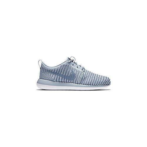 promo code cb9e6 1aeb4 Galleon - NIKE Womens Roshe Two Flyknit Running Trainers 844929 Sneakers  Shoes (UK 6 US 8.5 EU 40, Blue Grey Ocean Fog 400)