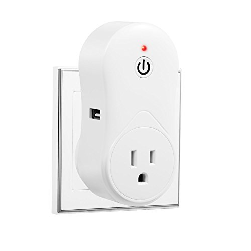 Smart-Wi-Fi-Plug-Hi-Tech-Wireless-Plug-Outlet-No-Hub-Required-Timing-Socket-Easy-AndroidiOS-App-Remote-Access-Works-with-Amazon-Alexa