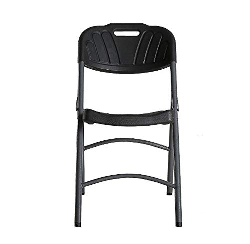Chair Reinforced Folding Chair Outdoor Leisure Chair Training Chair Simple Table and Chair Blow molding Chair