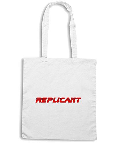 T-Shirtshock - Bolsa para la compra OLDENG00216 replicant Blanco