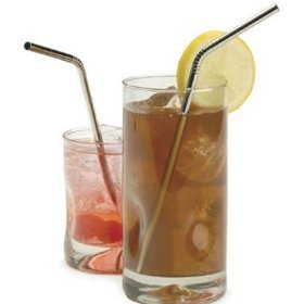 Endurance Stainless Steel Drink Bent Straws (Set of 4), Appliances for Home