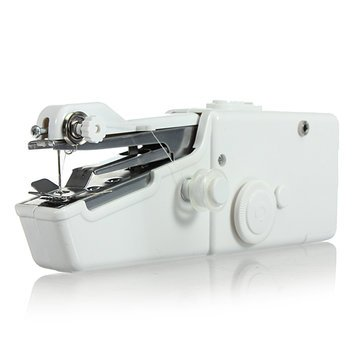Arts Crafts & Sewing Mini Sewing Machine - BX-215 Portable Mini Electric Handheld Sewing Machine Travel Household Cordless Stitch - 1 x Loskii BX-215 Portable Mini Electric Handheld Sewing Mac by Unknown