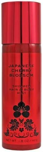 Bath & Body Works Japanese Cherry Blossom Shimmer Hair and Body Mist Spray 1.5 oz