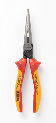 Fluke - INLP8 Insulated Long Nose/w Side Cutter and Gripping Zones, 1000V