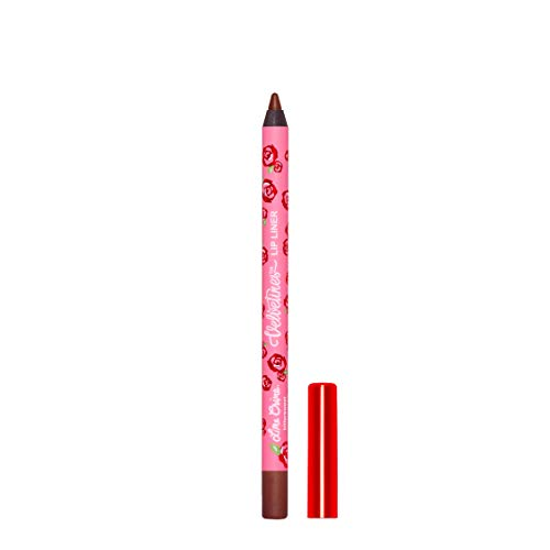 Lime Crime Velvetines Lip Liner(Bittersweet). Long Lasting Dark Chocolate Matte Lip Lining Pencil (0.042oz / 1.20 g)
